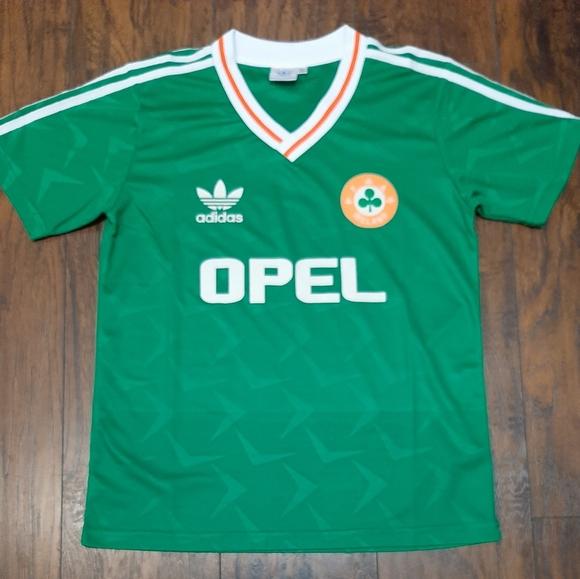 adidas Shirts   Vintage Adidas Ireland Soccer Jersey   Poshmark